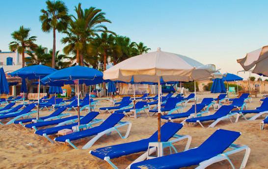 Отдых на пляже: